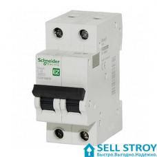 Автоматический выключатель Schneider 2П 16 А (шт.)
