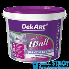 Краска DekArt Wall интерьерная 6,3 кг