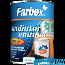 Эмаль Farbex акриловая для радиаторов  0,750 л