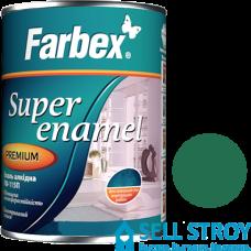 Эмаль Farbex ПФ-115П зеленая 0,3 кг