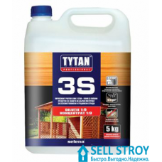 Биозащита TYTAN 3S для дачной и садовой древесины 1 кг