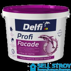 Краска Delfi латексная  фасадная 1.4 кг