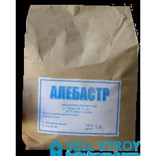 Алебастр (гипс) 1 кг (меш.)