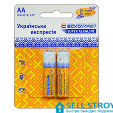 Батарейка АСКО LR06 АА пальчиковая (шт.)