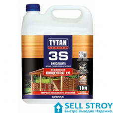 Антисептик TYTAN 3S Биозащита Хозяйственных Построек 1 л