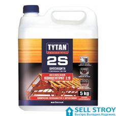 Антисептик Tytan 2S для стропильных систем концентрат 1:9, 5 кг