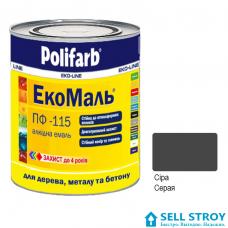 ЭкоМаль ПФ115  0,9 кг. серая (шт.)