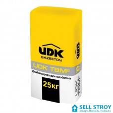 Клей UDK для газобетона 25 кг (меш.)