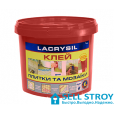 Клей для мозаики и плитки Lacrysil 1 кг (шт.)