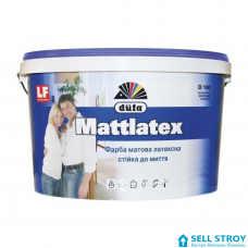 Краска Dufa Mattlatex D100 латексная матовая 1,0 л