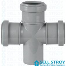 Крестовина канализационная 50х50х50 мм 90 градусов (шт.)