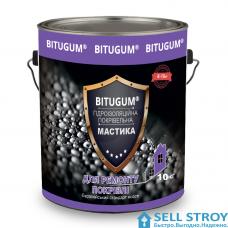 Мастика BITUGUM гидроизоляция кровельная 10 кг
