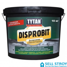 Мастика Tytan Disprobit каучуковая для кровли 10 кг