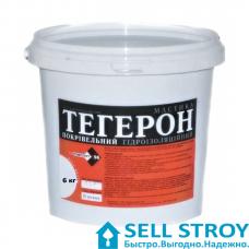 Мастика ТЕГЕРОН гидроизоляция кровельная 6,0 кг
