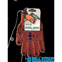 Перчатки Doloni D Оранжевые (пара)