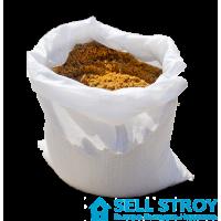 Песок речной сеяный в мешках 50 кг