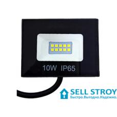 Прожектор LUMANO SMD 10W 6500K black STANDART